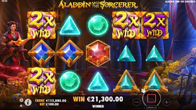 aladdin and the sorcerer 11