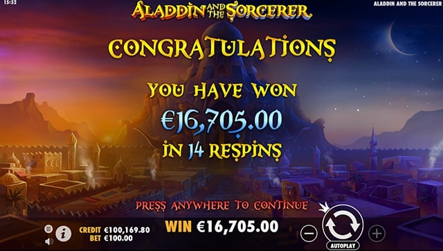 aladdin and the sorcerer 8