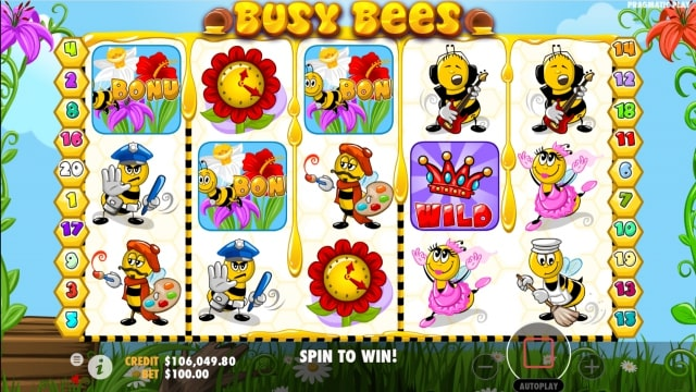 busy bees 5