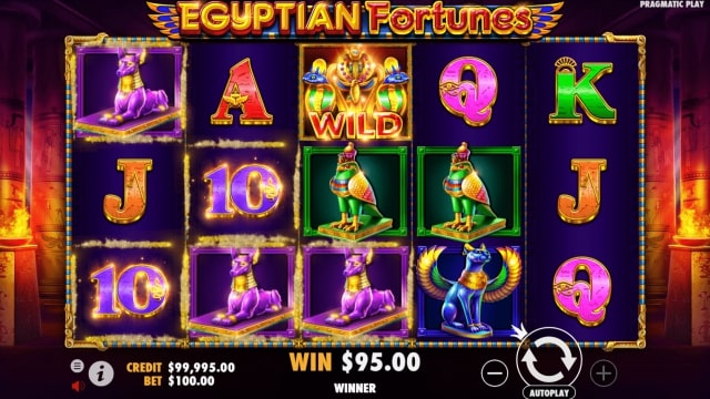 egyptian fortunes 1