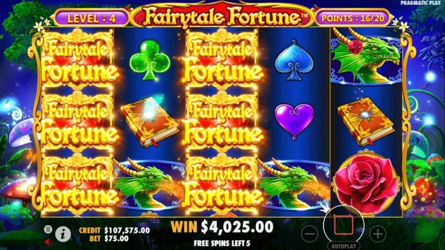 fairytale fortune 18
