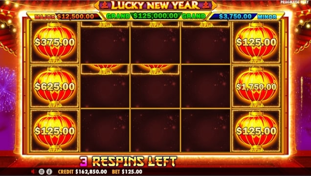 lucky new year 7