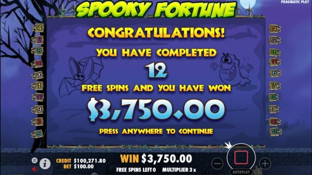spooky fortune 4