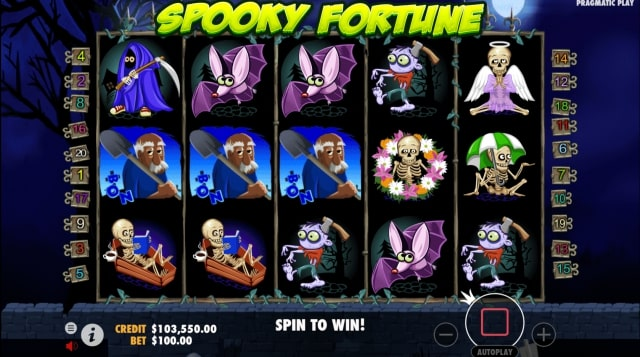 spooky fortune 5